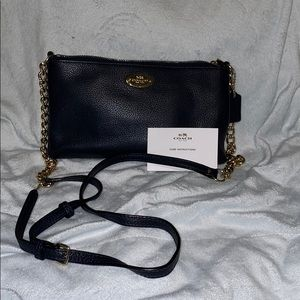 Coach small crossbody/ satchel bag Navy